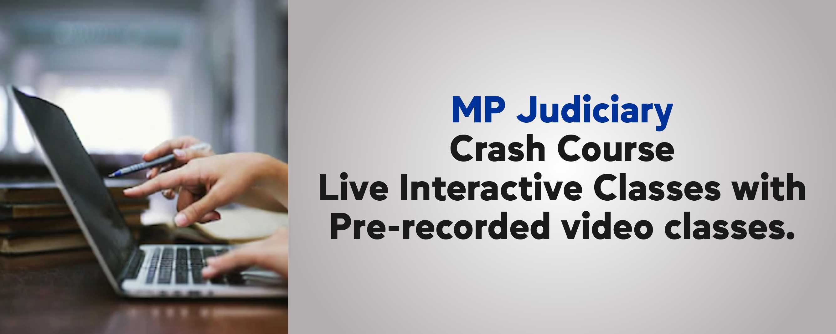 MP JUDICIARY PRELIMS CRASH COURSE